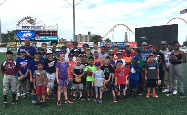 Second Youth Baseball Clinic – Group Photo