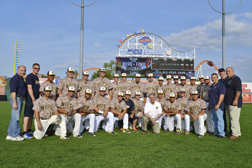 251a3ea66 NYPD defeats FDNY 9-4 to win 15th Annual Baseball Classic