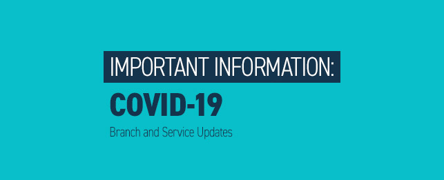 Important Information: COVID-19