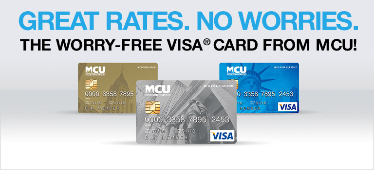 Low Rate MCU VISA Card