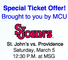 St Johns Ticket Offer